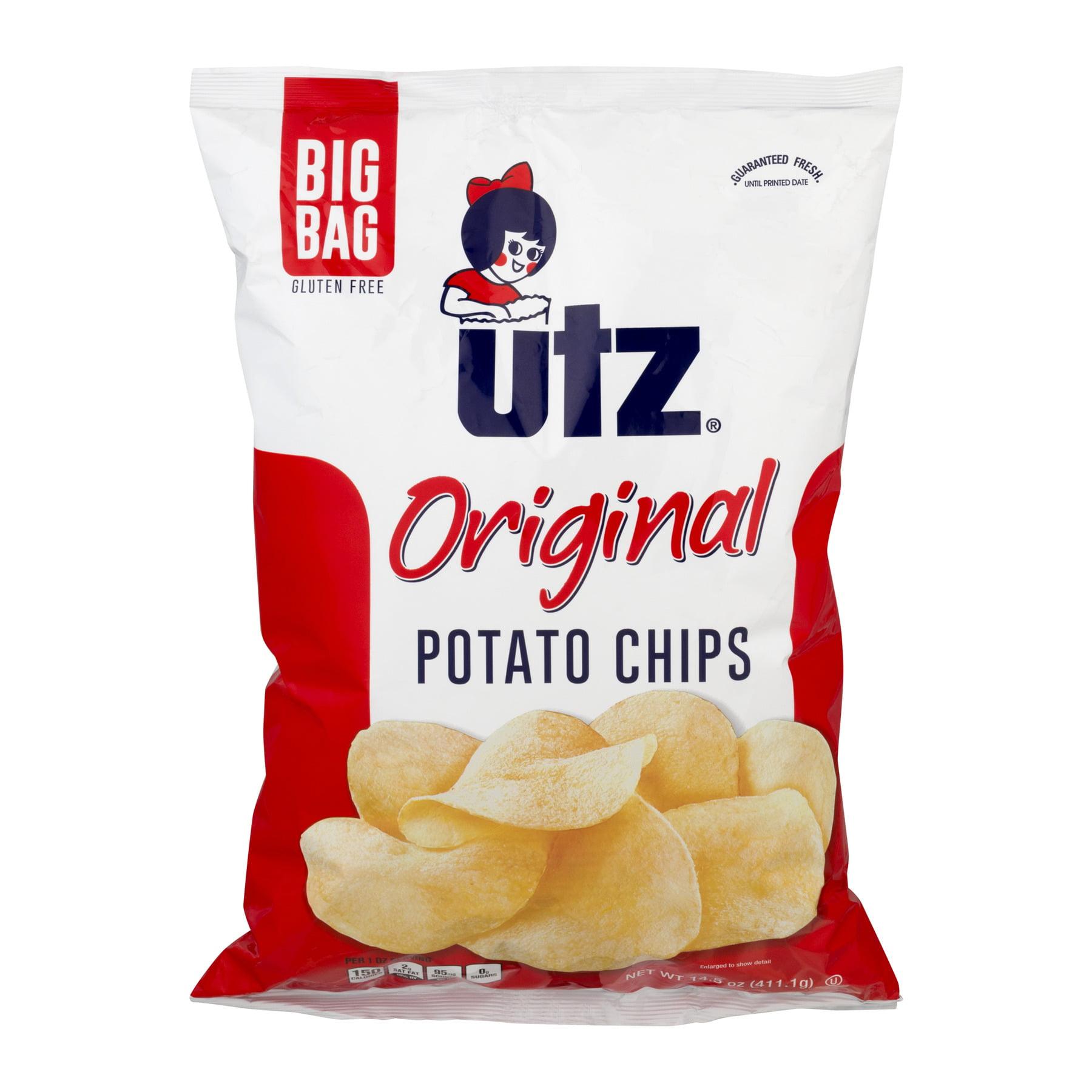 Utz Original Potato Chips, 14.5 Oz.