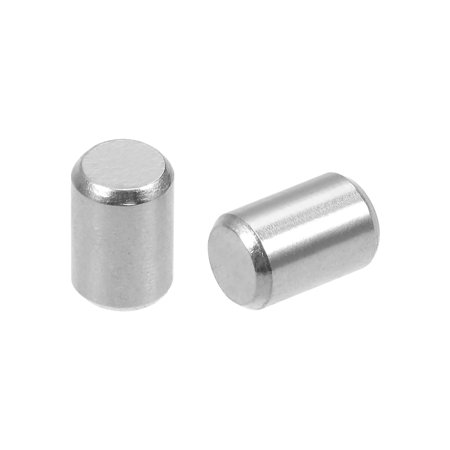 50Pcs 4mm x 5mm Dowel Pin 304 Stainless Steel Shelf Support Pin Fasten Elements Silver Tone - image 2 of 2
