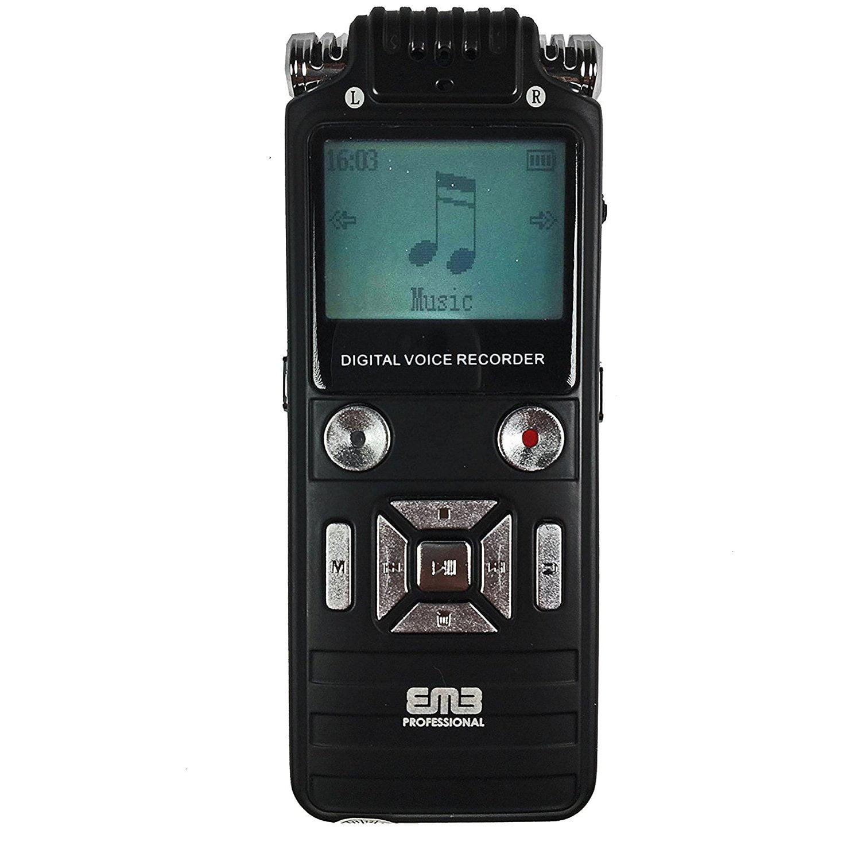 EMB Professional EVR8 8GB Portable Handheld WMA/MP3 Digit...