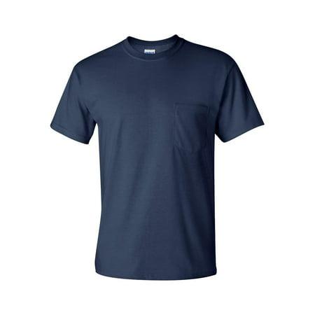 Gildan - Ultra Cotton T-Shirt with a Pocket - -