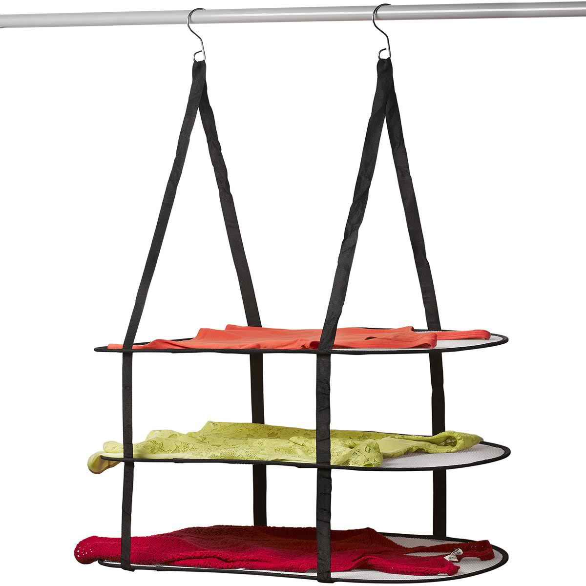 Hanging sweater drying rack mesh clothes drying rack