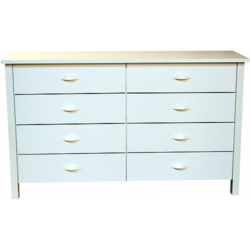 Nouvelle 8-Drawer Dresser, White