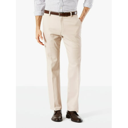 Men's Straight Fit Easy Khaki with Stretch