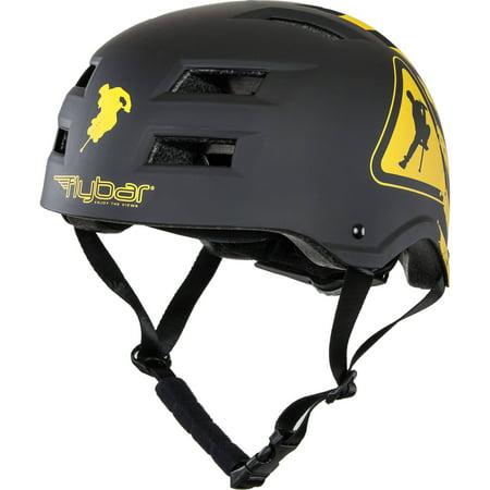 Flybar Multi Sport Helmet, Warning, L/XL