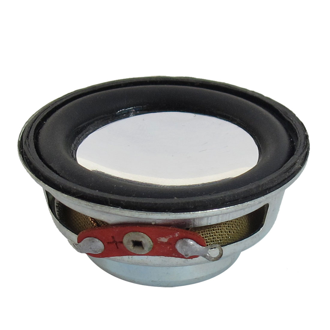 3W 3 Watt 8 Ohm 40mm Dia Magnetic Type Aluminum Shell Round Speaker