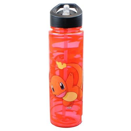 Pokemon Charmander Red Water Bottle