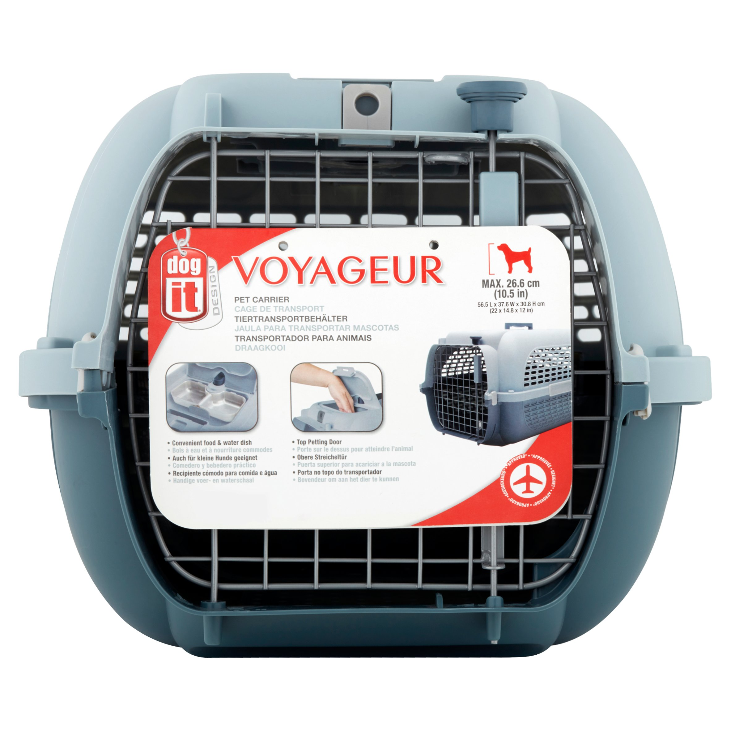 Dogit Design Voyageur Pet Carrier by Rolf C. Hagen (U.S.A.) Corp.