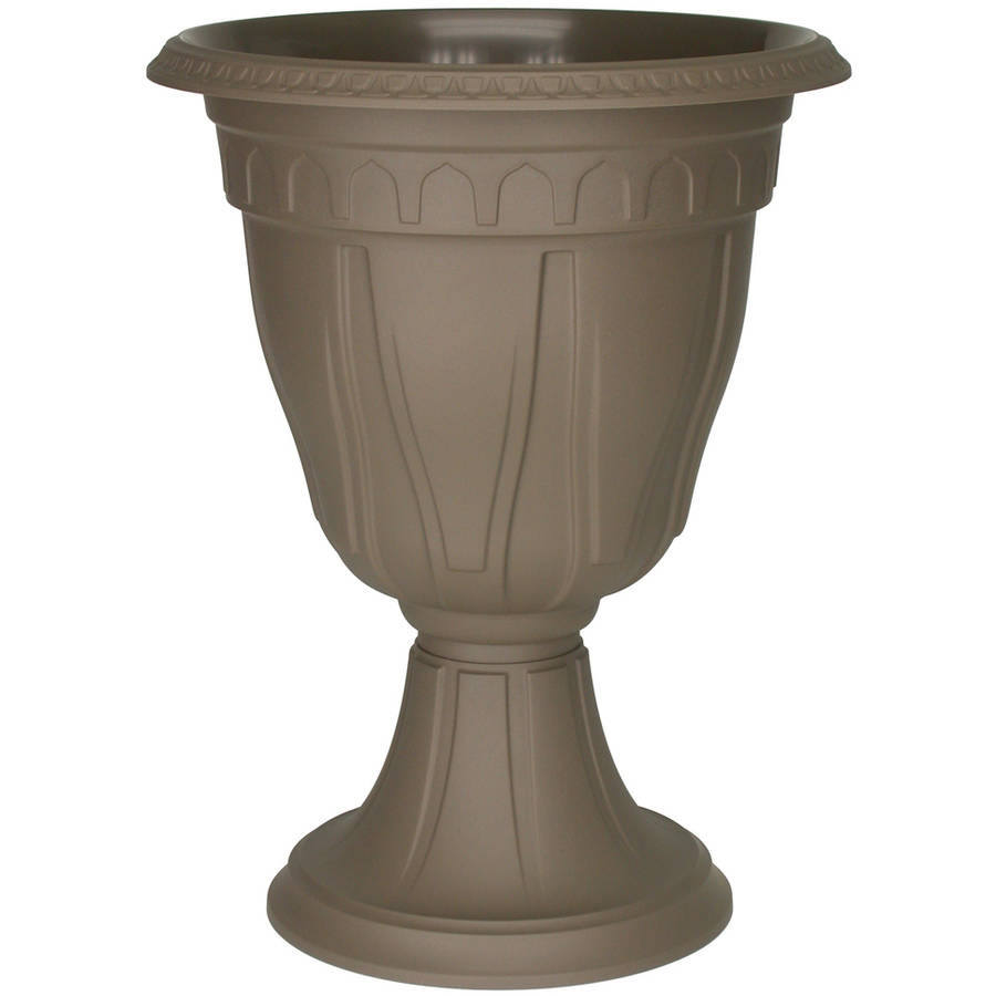 "15"" Azura Urn Planter by DCN Plastic"