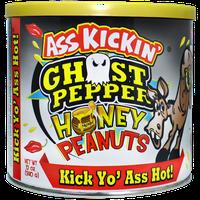 Ass Kickin' Ghost Pepper Honey Peanuts