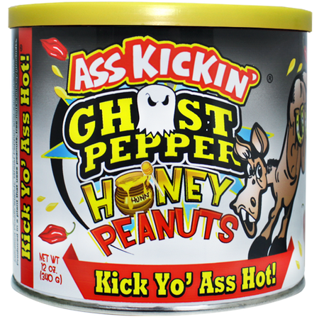 Ghost Pepper (Ass Kickin' Ghost Pepper Honey Peanuts)