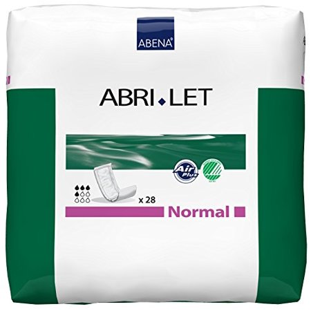 Abena Abri-Let Booster Pad, Normal, 500 ml, Bladder Control Pad, 300216 - Pack of