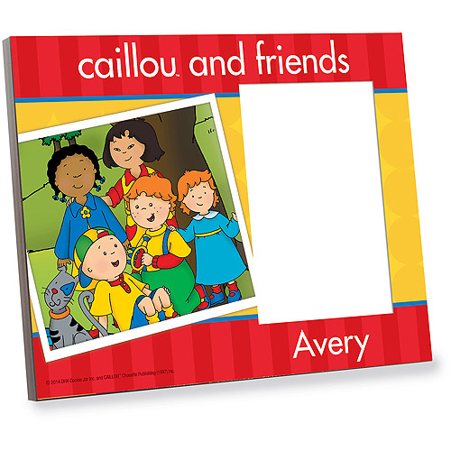 Personalized Caillou Friends Picture Frame