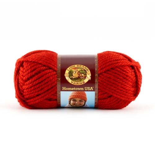 Lion Brand Yarn Hometown USA Acrylic Yarn