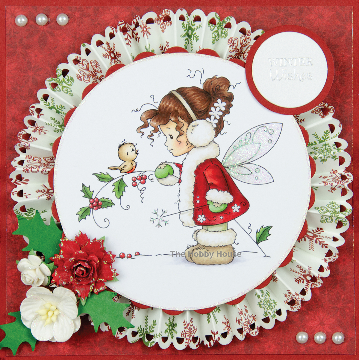 "Wee Stamps Topper Sheet 8.3""X12.2""  -Winter Fairy"