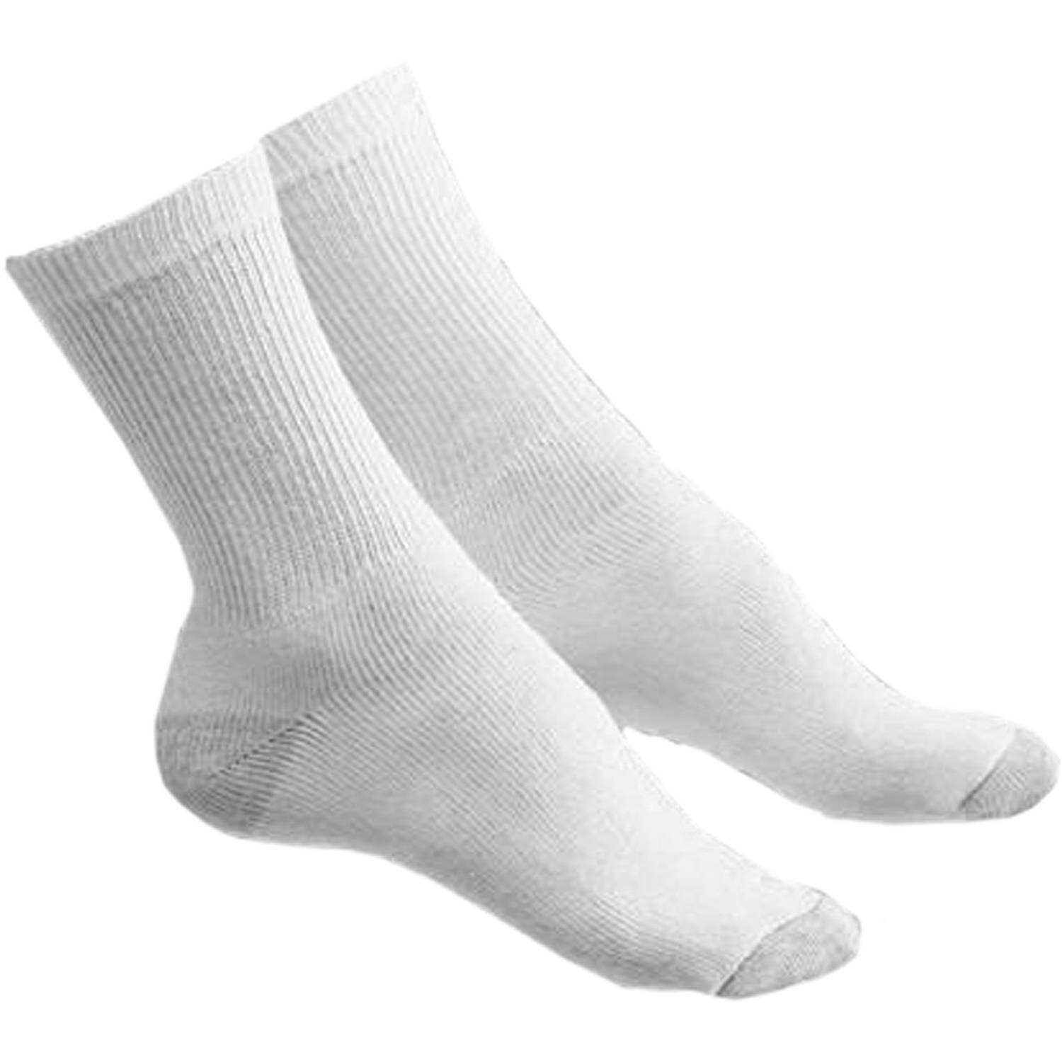 Women's Athletic Crew Socks, 6 Pairs