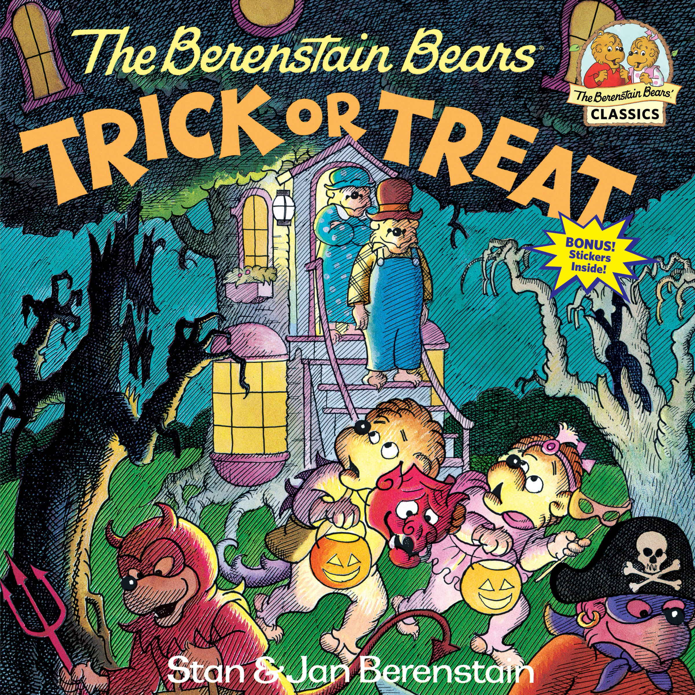 The Berenstain Bears Trick or Treat (Paperback)