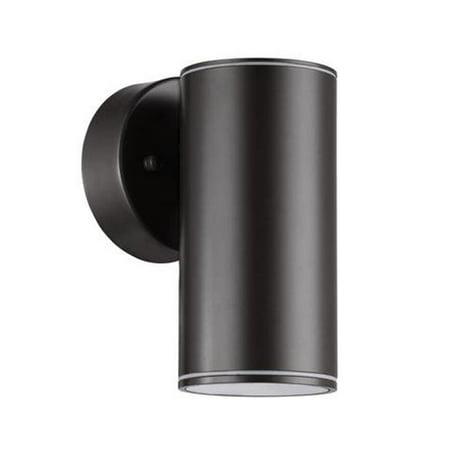 Efficient Lighting EL-1080D-B 1-Light 9W Integrated LED Exterior Wall Mount, Powder Coated Black