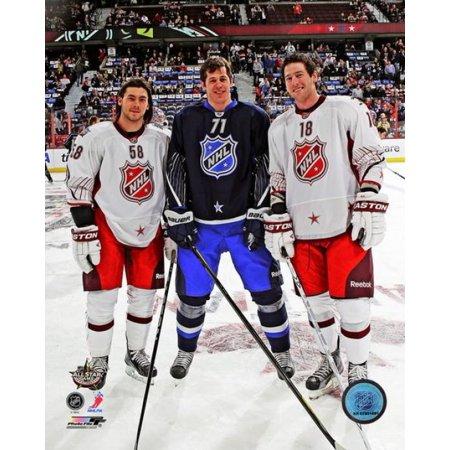 Kris Letang Evgeni Malkin & James Neal 2012 NHL All-Star Game Photo - Kris Letang Halloween