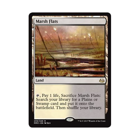 - Marsh Flats - Modern Masters 2017 By Wizards of the Coast