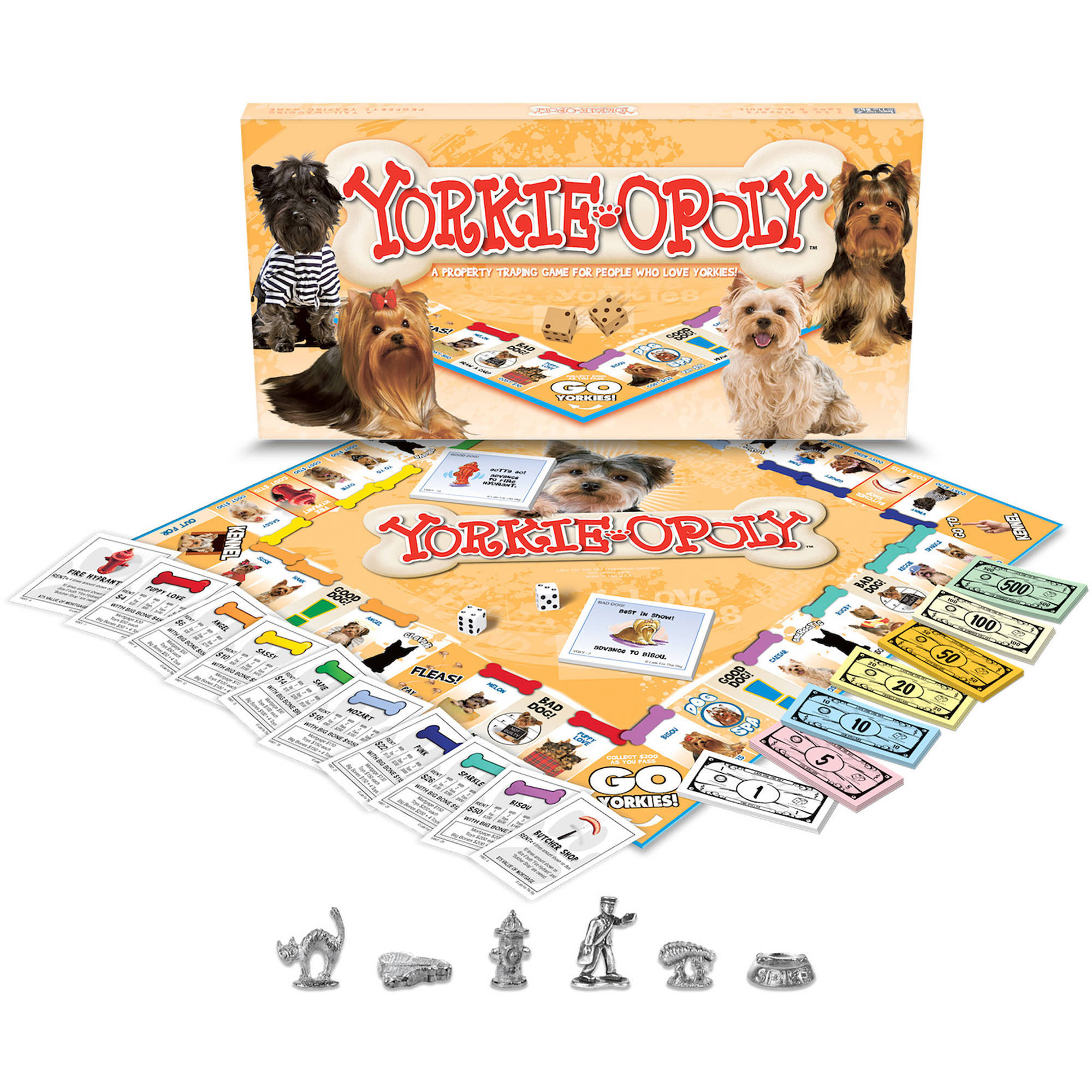 Late for the Sky Yorkie-opoly Game