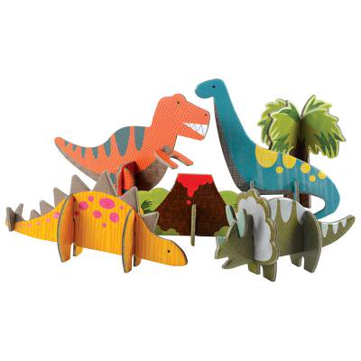 Petit Collage Pop Out and Build, Dinosaurs Playset](Build A Dino)