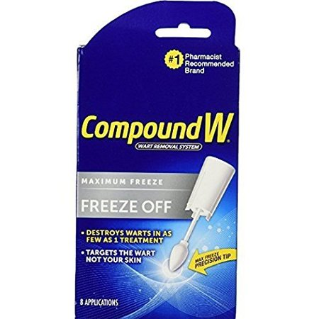 Compound W Freeze Off Wart Removal Treatment, 8 - Away Wart Remover