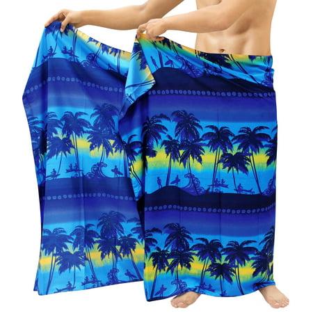 Beach Wear Pareo Wrap Cover ups Bathing Suit Beach Towel Mens Sarong Swimsuit