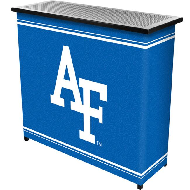 Trademark Poker CLC8000-AF Air Force FalconsT 2 Shelf Portable Bar with Case