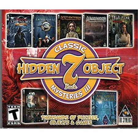 Classic Mysteries III Hidden Object 7 Pack PC Game Tri Synergy - New Halloween Hidden Object Games