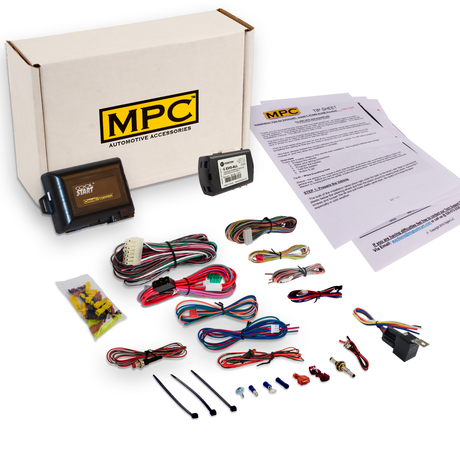 EZ Install Add-on Remote Start Kit for Honda/Acura.  Use Your Factory Remotes!