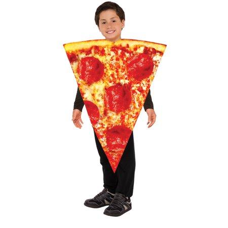 Kids Pizza Slice Halloween Costume - Mini Pizzas Halloween