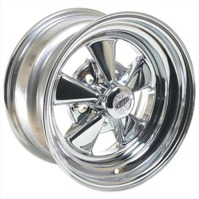 Cragar 61815 Super Sport Chrome Wheels 15 x 8 In.