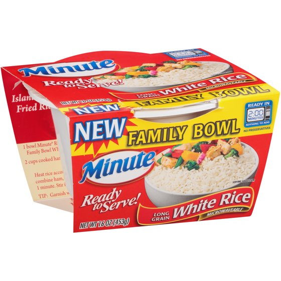 Minute Ready to Serve Long Grain White Rice, 16-Ounce