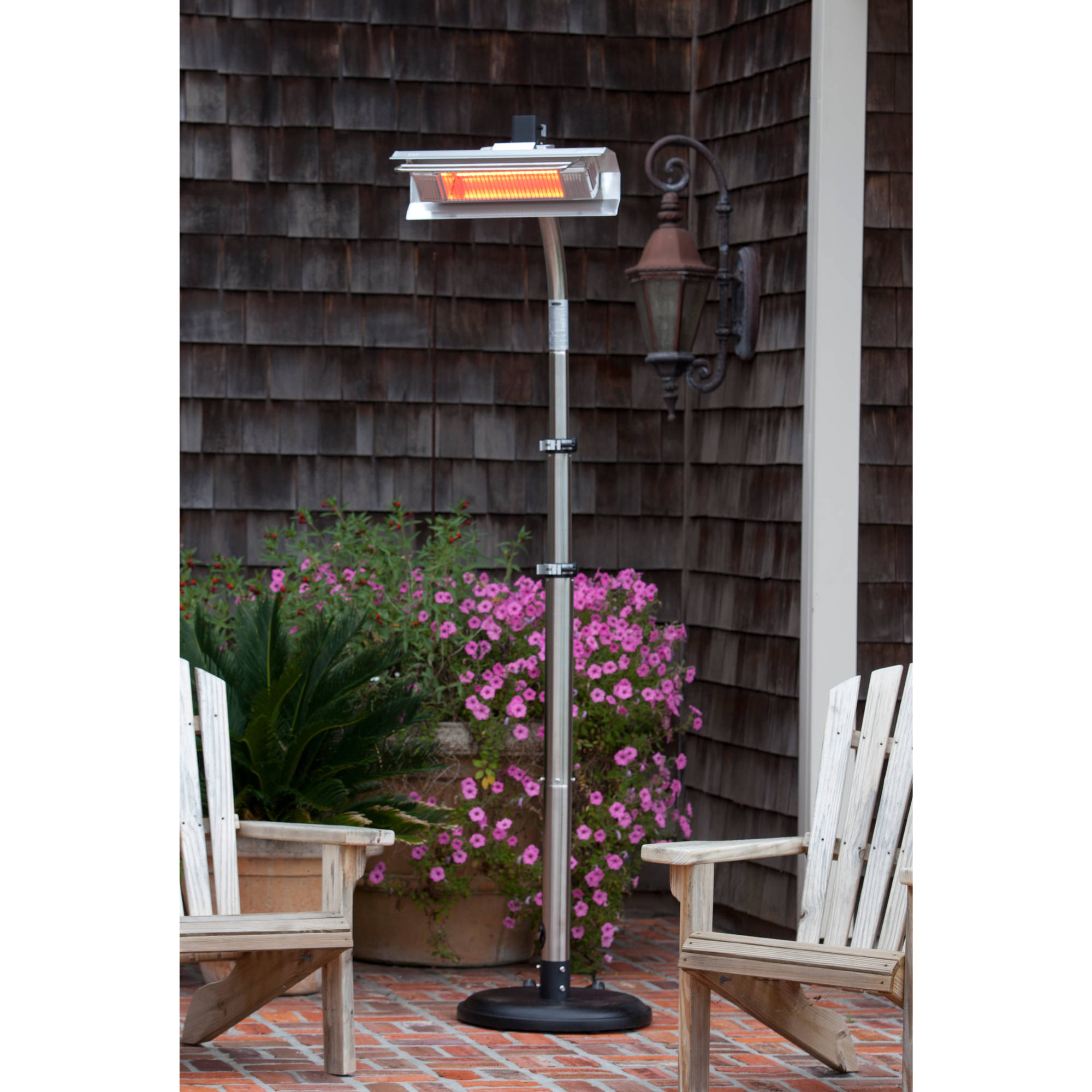 pyramid sense patio fire heater propane reviews flame