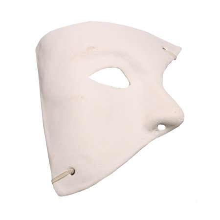 DIY Blank Paper Mache Phantom Mask - Paper Mache Heads Halloween
