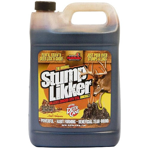 Evolved Habitats Liquid Mineral Stump Likker Mollasses Deer Attractant, 1 Gallon