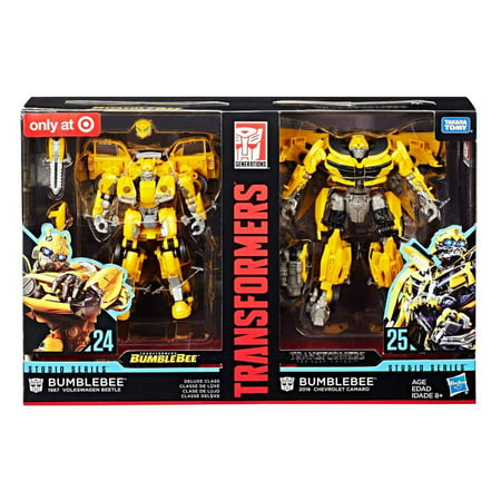 Transformers Studio Series 24 and 25 Deluxe Class Bumblebee Action Figure 2-Pack - image 1 of 1