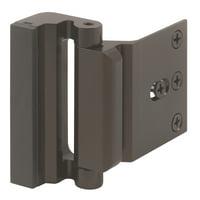 """Prime Line U11126 2-3/16"""" Bronze Finish Aluminum Entry Door Stop"""