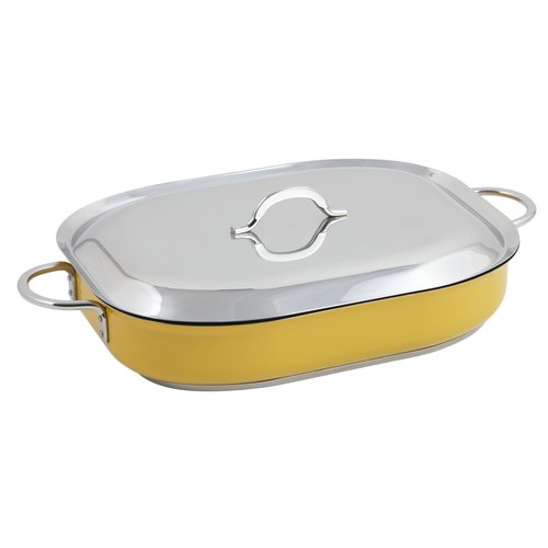 Bon Chef Classic Country French 5-qt. Rectangular Braiser with Lid by Bon Chef