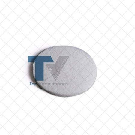 Oreck Vacuum Cleaner Orbiter Fine Polyester White Polishing Pad // 437-051