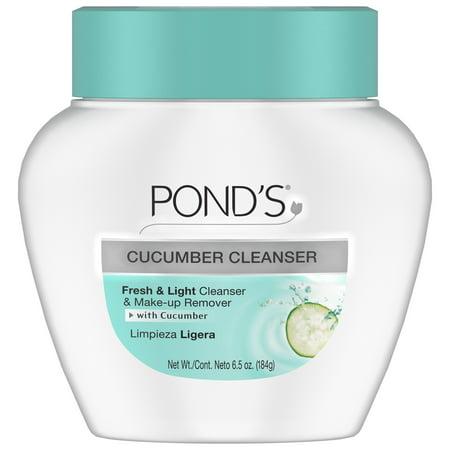 Pond's Cucumber Cold Cream Makeup Remover, 6.5 oz