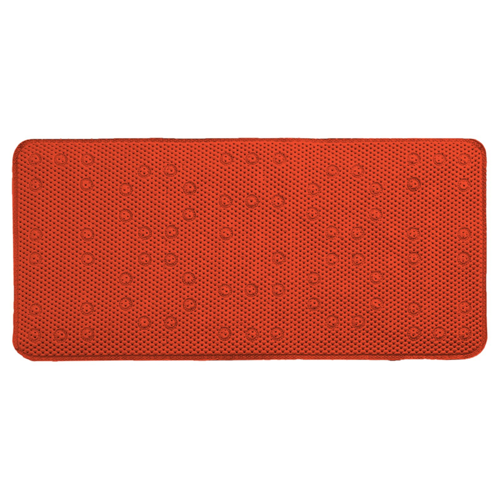 Sweet Home Collection Antibacterial Waffle Cushioned Non Slip Foam Bathtub Mat
