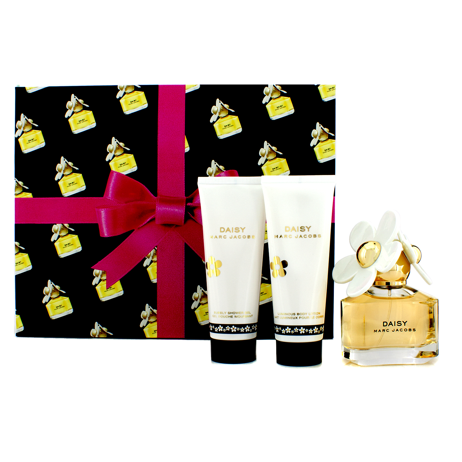 Marc Jacobs - Daisy Coffret: Eau De Toilette Spray 50ml/1.7oz + Body Lotion 75ml/2.5oz + Shower Gel 75ml/2.5oz - 3pcs