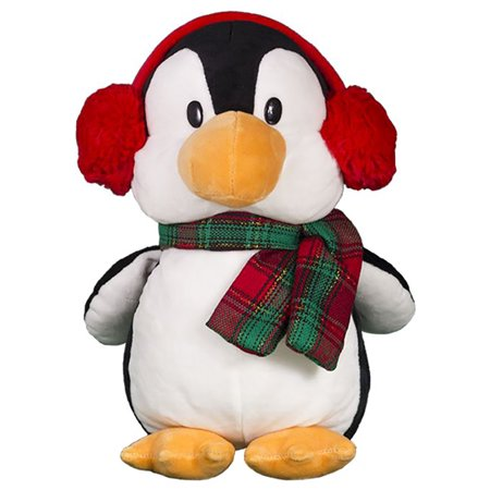Cuddly Soft 16 inch Stuffed Pebble the Penguin - We stuff 'em...you love - Penguins Pebble Mate