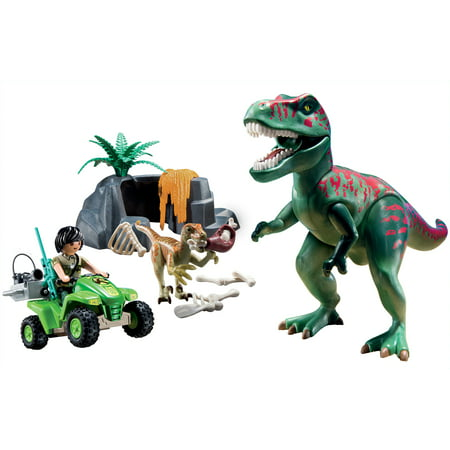Playmobil Quad Bike (PLAYMOBIL Explorer Quad With T-Rex)