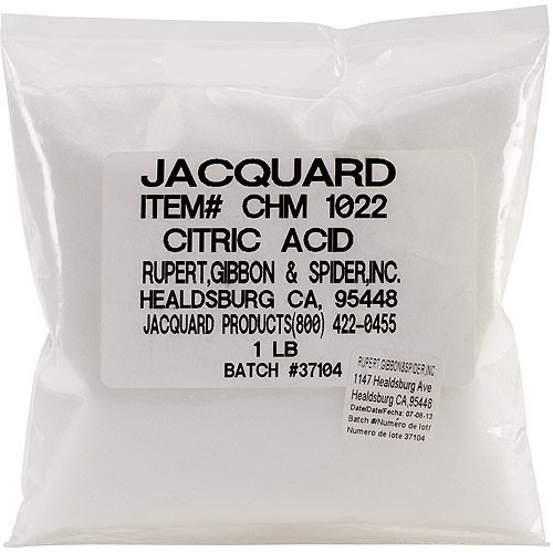 Jacquard Citric Acid, 1lb