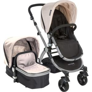 Babyroues Le tour II Bassinet & Stroller Tan/Black