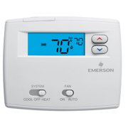 White-Rodgers 1F86-0244 Non Programmable Digital Thermostat