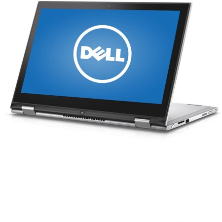 Dell 13.3  Silver Inspiron 7359 Laptop PC with Intel Core i5-6200U Processor, 8GB Memory, touch screen, 500GB Hard Drive and Windows 10 Dell 13.3  Inspiron 7359 Laptop PC: Key Features and Benefits: Intel Core i5-6200U processor2.80GHz, 3MB Cache8GB DDR3 SDRAM system memoryGives you the power to handle most power-hungry applications and tons of multimedia work500GB SATA hard drive and 8GB cacheStore 333,000 photos, 142,000 songs or 263 hours of HD video and moreIntel ®3165 AC (1x1 AC, 433 Mbps)Wirelessly connect to a WiFi signal or hotspot with the 802.11ac connection built into your PC13.3  LED-backlit touchscreen displayIntel HD GraphicsAdditional Features: Built-in webcamSD memory card readerBluetooth 4.03x USB 3.0 ports, 0x USB 2.0 port, 1 x HDMI port3-cell integrated battery3.69 lbs, 12.99  x 0.75  x 8.74 Software: Genuine Microsoft Windows 10Microsoft Office trialMcAfee LiveSafe (30-day trial)Backup and Restore options built into Windows allow you to create safety copies of your most important personal files, so you're always prepared for the worstSupport and Warranty:1-year limited hardware warranty; 24/7 technical assistance available online or toll-free by phoneWhat's In The Box: Power cord and AC adapter3-cell batteryQuick Start GuideTo see the manufacturer's specifications for this product, click here. To see a list of our PC Accessories, click here. Trade in your used computer and electronics for more cash to spend at Walmart. Good for your wallet and the environment - click here. ENERGY STAR ®Products that are ENERGY STAR-qualified prevent greenhouse gas emissions by meeting strict energy efficiency guidelines set by the U.S. Environmental Protection Agency and the U.S. Department of Energy. The ENERGY STAR name and marks are registered marks owned by the U.S. government, as part of their energy efficiency and environmental activities.