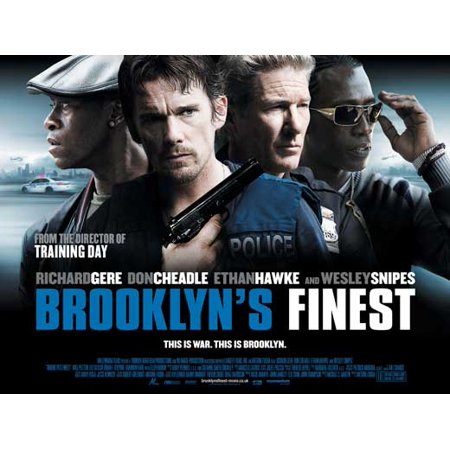 Brooklyn's Finest (2010) 30x40 Movie Poster (UK)](Brooklyn's Denver Halloween)